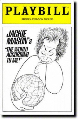 Jackie Mason's The World According to Me!